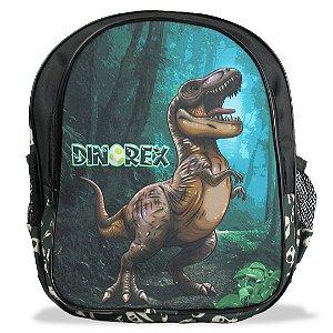 Mochila Escolar De Costas Infantil Dino-rex Tam M