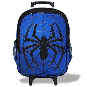 Mochila Escolar Infantil de Rodinhas Tam G Spider