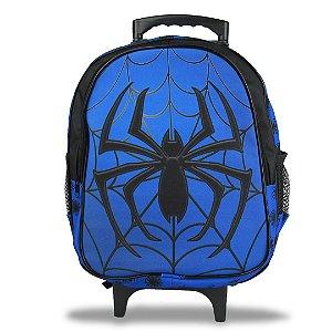 Mochila Escolar Infantil Tam M Rodinhas Spider