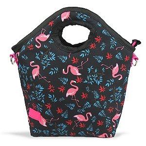 Bolsa Térmica Para Marmita Flamingo