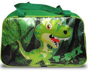 Bolsa Escolar Viagem Infantil Dinossauro T-rex