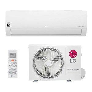 Ar Condicionado LG Split DUAL Inverter 9.000 BTUs - Frio