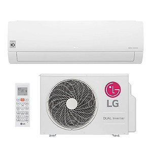 Ar Condicionado LG Split DUAL Inverter 18.000 BTUs - Frio