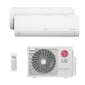 Ar Condicionado LG Multi Split Inverter 18.000 BTUs com 02 evap HW 8.500 BTUs - Quente/Frio