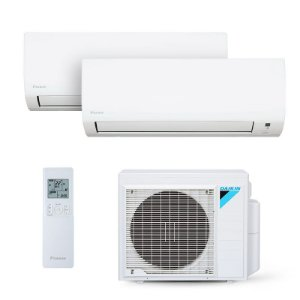Ar Condicionado Multi Split Daikin inverter 18.000 BTUs com 02 evap HW 9.000 BTUs - Quente/Frio