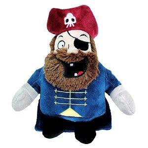 Brinquedo Jambo Mordedor Pelucia Pirata Premium