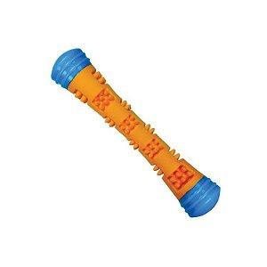 Brinquedo Mordedor Jambo  Magic Stick Pequeno Laranja