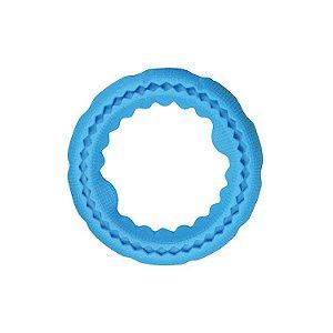 Brinquedo de cão Mordedor Jambo Anel Tug Tuff Pequeno Azul