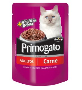 Sachê Primogato Carne 85g