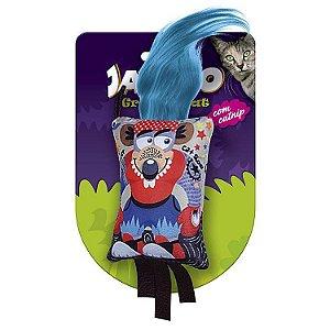 Brinquedo Para Gato Grafic Rato Vermelho Jambo