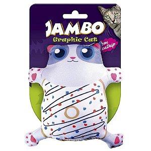 Brinquedo Para Gato Grafic Gato Cute Donut Jambo