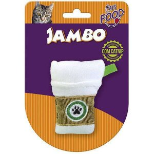 Brinquedo Para Gato Pelúcia Food Starbark Latte Jambo