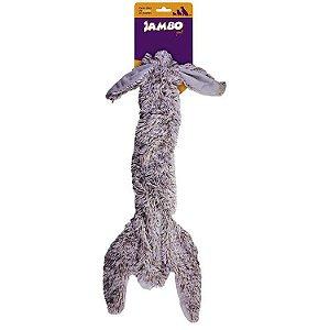 Brinquedo para Cachorro Pelúcia Skin Coelho Grande Jambo Pet
