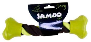 Brinquedo para Cachorro Corda Dental Tug Pontas Jambo Pet