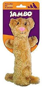 Brinquedo de Cachorro Barriguinha Plush Tigre Jambo Pet