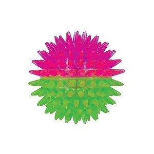 Brinquedo de Cachorro Bola Espinho Dual Color Pequena Jambo