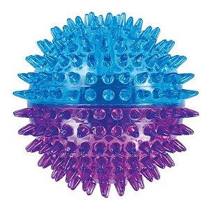 Brinquedo de Cachorro Bola Espinho Dual Color Grande Jambo