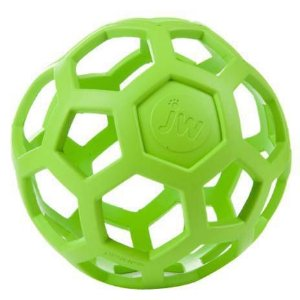 Brinquedo de cachorro Bola Holee Roller Mini Verde JW