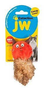 Brinquedo para gato Pelucia Squirrel esquilo com Catnip JW