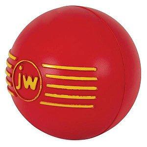 Brinquedo de cachorro Bola com Apito iSqueak Ball G Vermelha