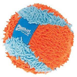 Brinquedo de cachorro Bola Indoor Ball Chuckit Laranja azul