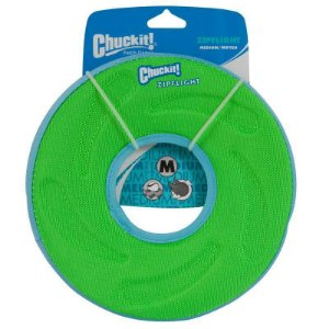 Brinquedo cachorro Disco Frisbee Zipflight M Verde Chuckit