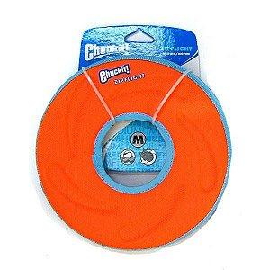 Brinquedo cachorro Disco Frisbee Zipflight M Laranja Chuckit