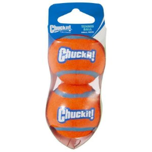 Brinquedo de cachorro Bola Tennis 2Un Peq Chuckit Laranja
