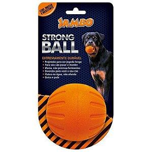Brinquedo para Cachorro Bola Strong Ball Grande Laranja