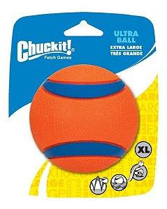 Brinquedo de cachorro Bola Ultra Ball 1Un GG Chuckit Laranja