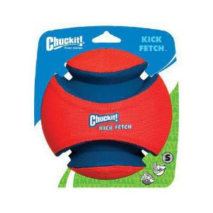 Brinquedo de cachorro Bola Kick Fetch Pequena Chuckit
