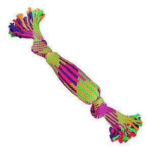 Brinquedo de Cachorro Corda ColorFull Noh Garrafa Jambo Pet