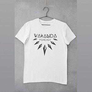 Camiseta estampada Wakanda Forever