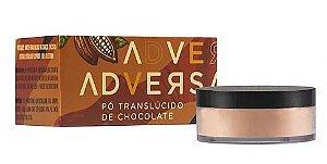 Pó Facial Translúcido Vegano / Chocolate -  Adversa