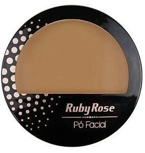 Pó Facial Marrom Médio 17 - Ruby Rose
