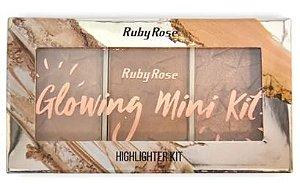 Paleta Iluminador Glowing 2 - Ruby Rose