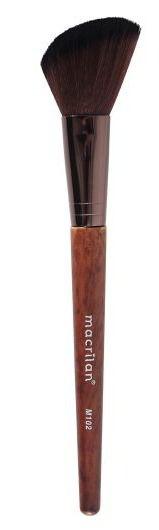 M102 – Pincel Profissional para Blush Macrilan – Linha Madeira