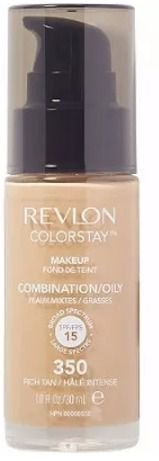 Base Revlon Colorstay 24hrs Somente Pele Oleosa Original Cor 350