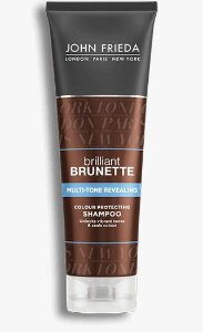 John Frieda Shampoo 250ml BRILLIANT BRUNETTE Multi-Tone Revealing Moisturizing