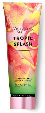 Victoria's Secret Tropic Splash Creme Loção Fragrância fina 8 Fl Oz