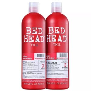 Bed Head Tigi Resurrection Kit Shampoo + Condicionador 750ml