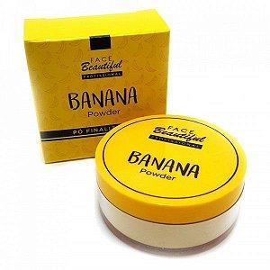 Pó Facial Powder Banana Face Beautiful