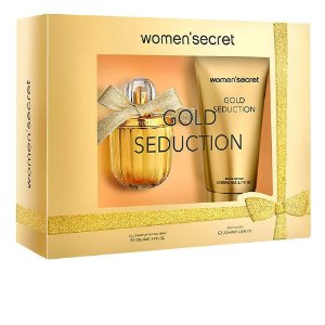 Women'secret Gold Seduction Gift Set Eau De Parfum 100ml + Body Lotion 200ml