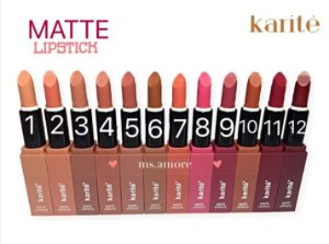 Karite Matte Lipstick -  COR 7