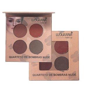 Quarteto de Sombras Nude 04 Ludurana