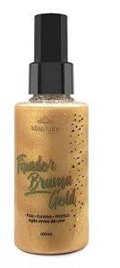 Fixador Bruma  Gold Miss Lary - Primer Iluminador