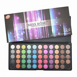 Paleta de Sombras Colorful 3D 88 Cores Miss Rôse - 7001-491MY