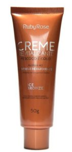 Creme Revitalizante Ice Bronze Pescoço E Colo - Ruby Rose