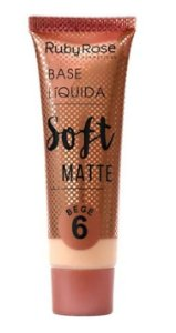 Base Líquida Soft Matte Bege 6 - Ruby Rose