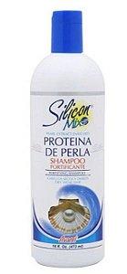 Silicon Mix Proteina de Perla Shampoo Fortificante 473ml